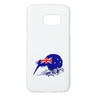 Australian Flag - Kiwi Bird Samsung Galaxy S7 Case