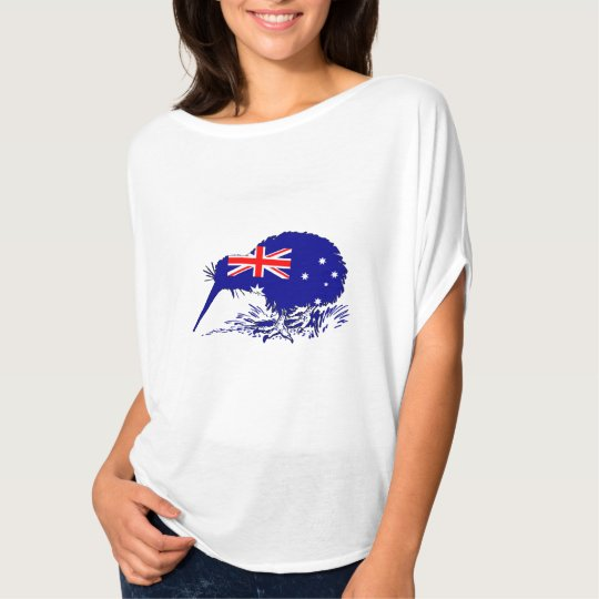 Australian Flag - Kiwi Bird T-Shirt