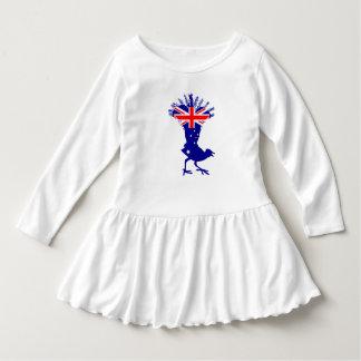 Australian Flag - Lyrebird Dress