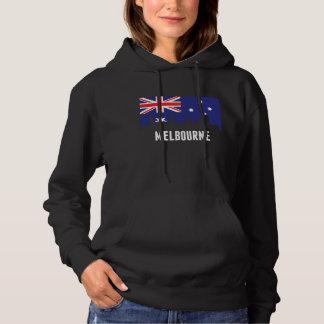 Australian Flag Melbourne Skyline Hoodie