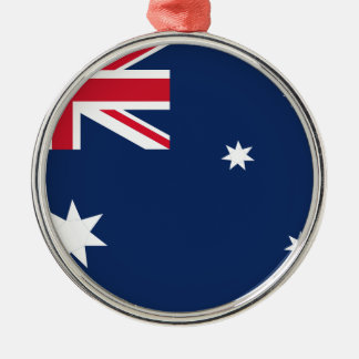 Australian flag metal ornament