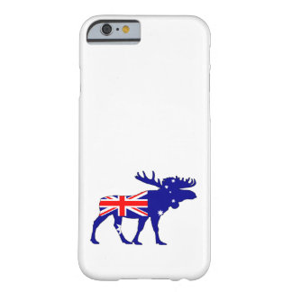 Australian Flag - Moose Barely There iPhone 6 Case