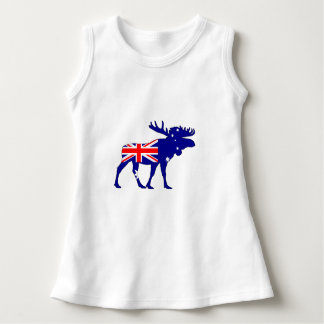 Australian Flag - Moose Dress