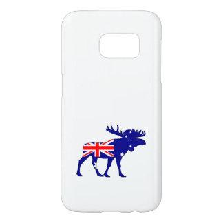 Australian Flag - Moose Samsung Galaxy S7 Case
