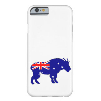 Australian Flag - Mountain Goat Barely There iPhone 6 Case