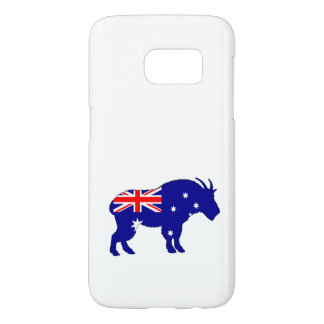 Australian Flag - Mountain Goat Samsung Galaxy S7 Case