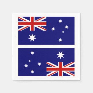Australian Flag Naplins Napkin