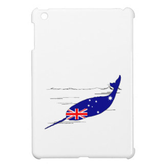 Australian Flag - Narwhal Cover For The iPad Mini