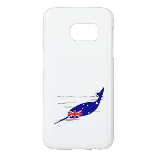 Australian Flag - Narwhal Samsung Galaxy S7 Case