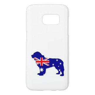 Australian Flag - Newfoundland Dog Samsung Galaxy S7 Case