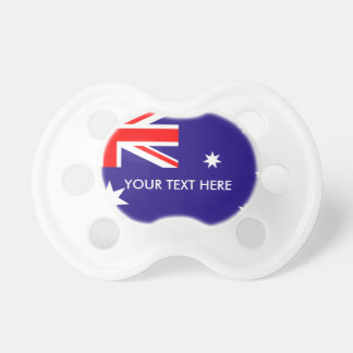 Australian flag of Australia custom baby pacifier