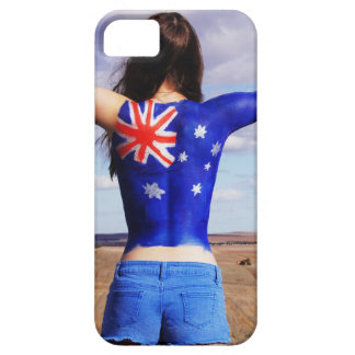 Australian Flag on the body iPhone 5 Covers