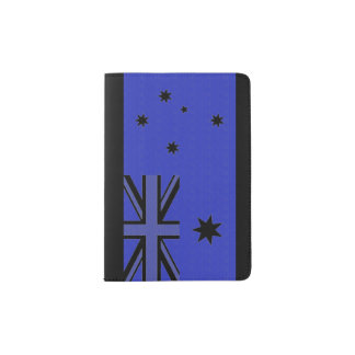 Australian Flag Passport Holder