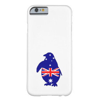 Australian Flag - Penguin Barely There iPhone 6 Case