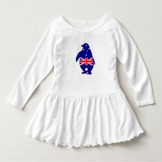Australian Flag - Penguin Dress