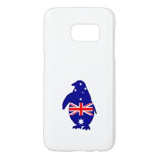 Australian Flag - Penguin Samsung Galaxy S7 Case
