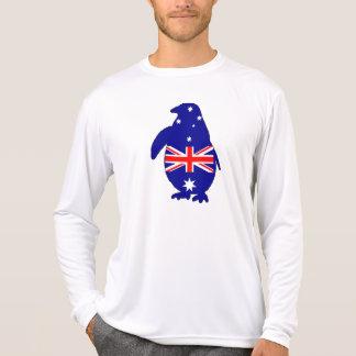 Australian Flag - Penguin T-Shirt