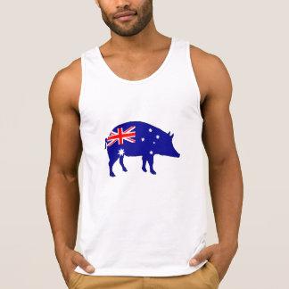 Australian Flag - Pig