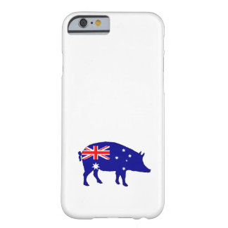 Australian Flag - Pig Barely There iPhone 6 Case