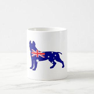Australian Flag - Pit Bull Terrier Coffee Mug