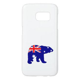 Australian Flag - Polar Bear Samsung Galaxy S7 Case