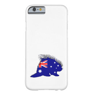 Australian Flag - Porcupine Barely There iPhone 6 Case