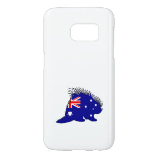 Australian Flag - Porcupine Samsung Galaxy S7 Case