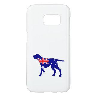 Australian Flag - Redbone Coonhound Samsung Galaxy S7 Case