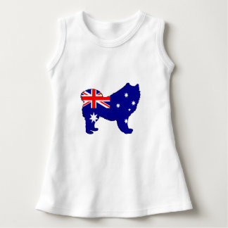 Australian Flag - Samoyed Dress