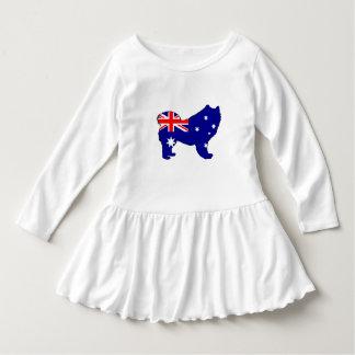 Australian Flag - Samoyed Dress