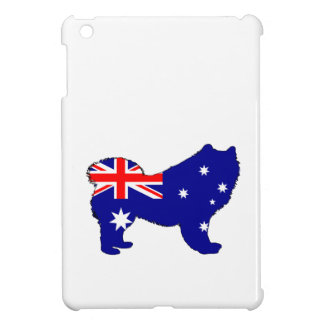 Australian Flag - Samoyed iPad Mini Cover