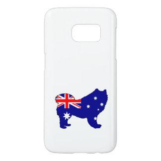 Australian Flag - Samoyed Samsung Galaxy S7 Case