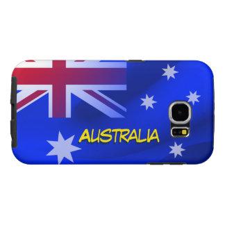 Australian flag samsung galaxy s6 case