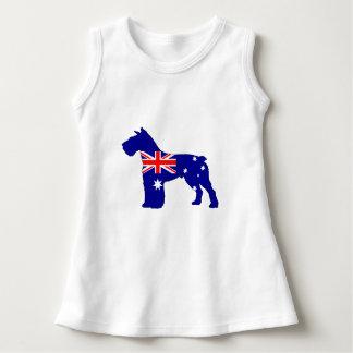 Australian Flag - Schnauzer Dress