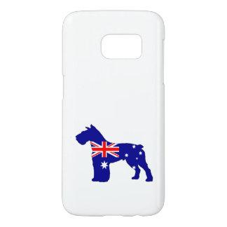 Australian Flag - Schnauzer Samsung Galaxy S7 Case