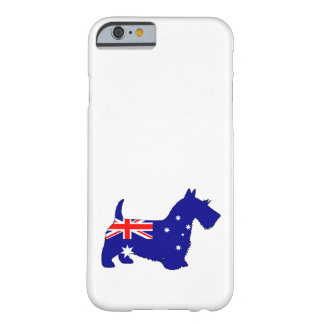 Australian Flag - Scottish Terrier Barely There iPhone 6 Case