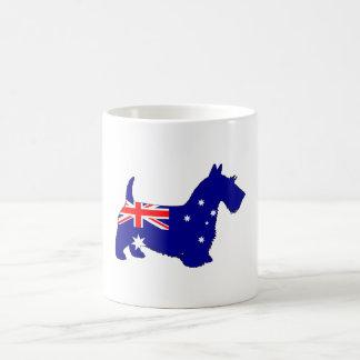Australian Flag - Scottish Terrier Coffee Mug