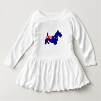 Australian Flag - Scottish Terrier Dress
