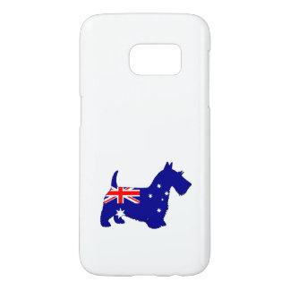 Australian Flag - Scottish Terrier Samsung Galaxy S7 Case