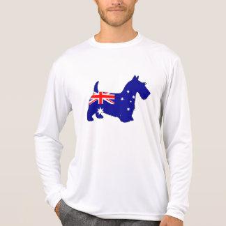 Australian Flag - Scottish Terrier T-Shirt