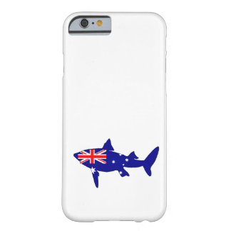 Australian Flag - Shark Barely There iPhone 6 Case