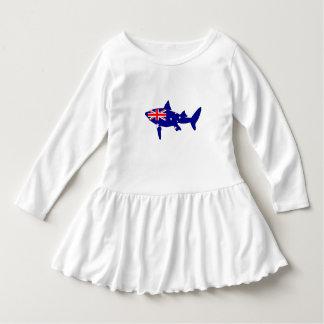 Australian Flag - Shark Dress