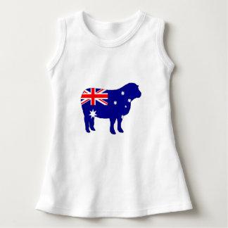 Australian Flag - Sheep Dress