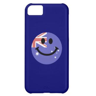 Australian flag smiley face iPhone 5C case
