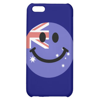Australian flag smiley face iPhone 5C cover