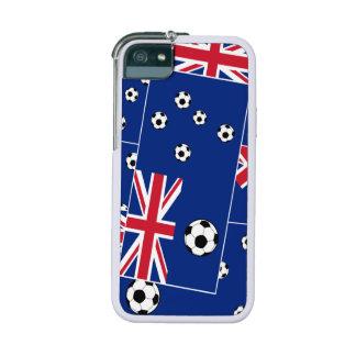 Australian Flag Soccer Balls iPhone 5/5S Cases