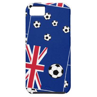 Australian Flag Soccer Balls iPhone 5 Case