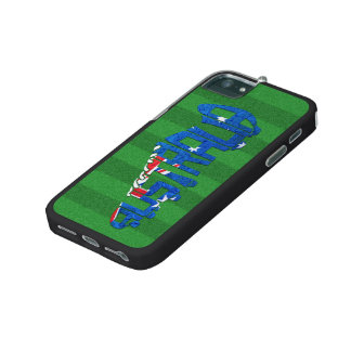 Australian Flag Soccer Typography Cover For iPhone 5