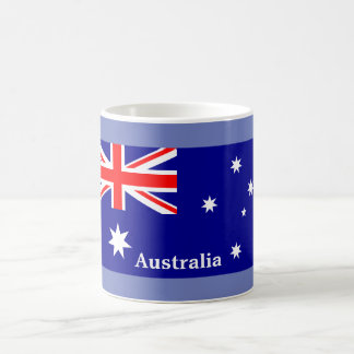 Australian Flag - souvenir coffee mug