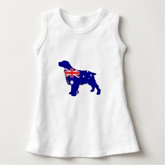 Australian Flag - Spaniel Dress